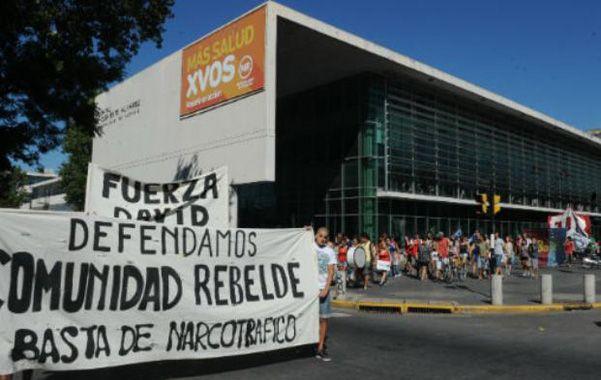 Reclamo. Sergio David Muñoz estuvo internado en el Heca tras el ataque.