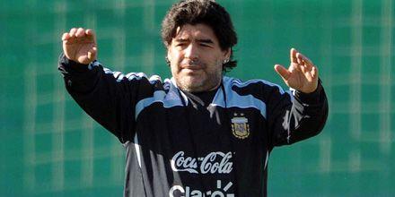 Maradona ahora puso en duda su continuidad al frente de la selección nacional
