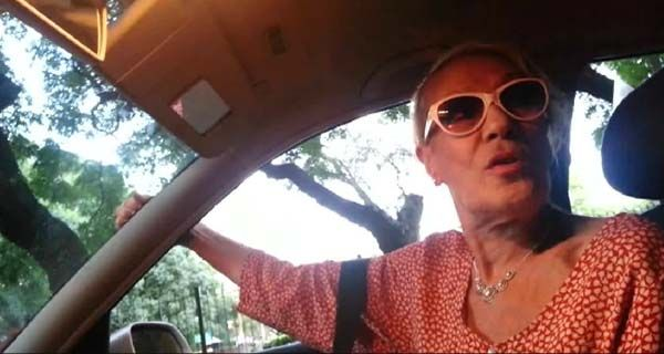 Un video inédito de Norma Pons que subió al auto de un desconocido para ir al teatro