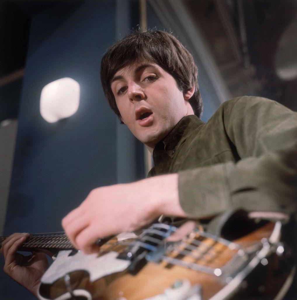 McCartney en época de los Fab Fours.
