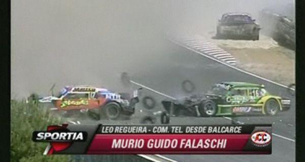 El TC de luto por la muerte del corredor de Las Parejas Guido Falaschi
