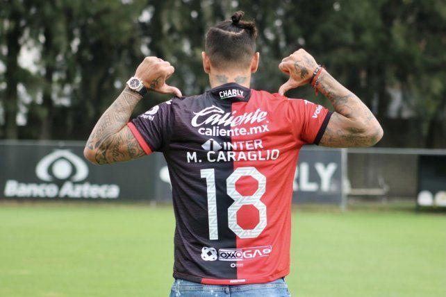 Milton Caraglio espera salir de Atlas cuanto antes para ponerse a las órdenes del Kily González.