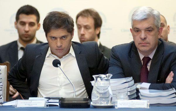Ley de leyes. El ministro Kicillof y el presidente de Diputados