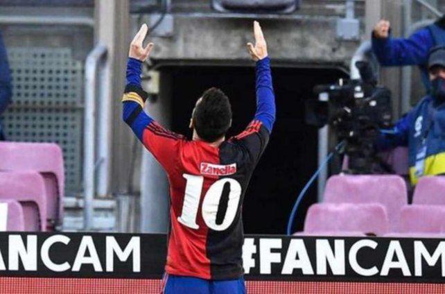 Newells publicó un tuit en el que le ofrece a Messi que vuelva a Rosario a jugar en el club del que es hincha.