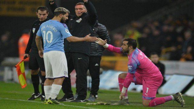 El Kun jugó poco y el Manchester City lo pagó caro