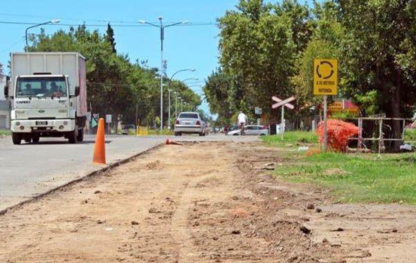 Mejoras. El ensanche y las obras anexas permitirán agilizar el tránsito hacia la autopista.