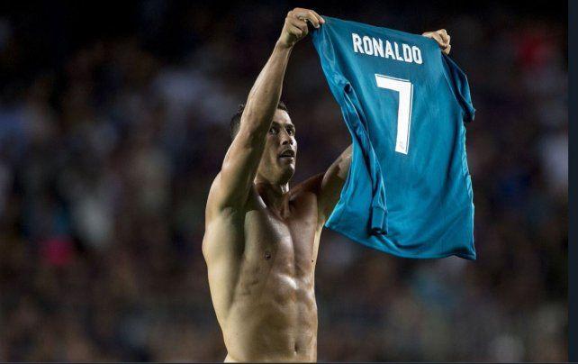 Real Madrid ganó 3 a 1 a Barcelona pero Cristiano Ronaldo festejó de más y fue expulsado