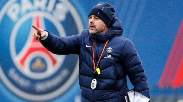 Se puso al frente. Pochettino hará su presentación oficial como DT mañana ante Saint Etienne.