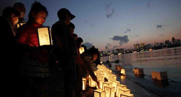 Japón recuerda el aniversario del trágico tsunami y terremoto