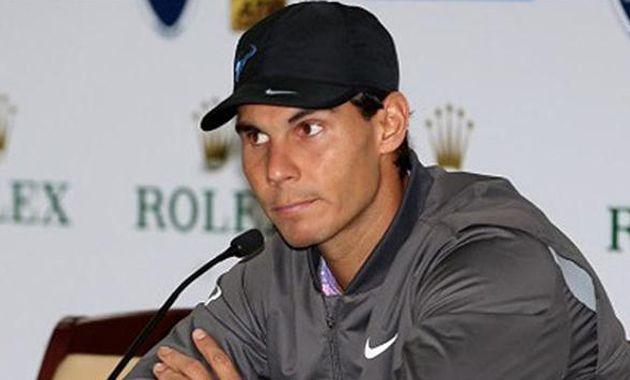 """Estoy practicando y trataré de jugar mañana. Pero obviamente no estoy en mi mejor condición"""""""