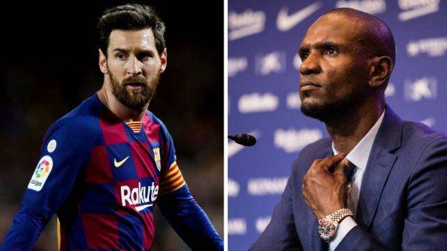Messi cruzó a Abidal con una carta y Barcelona está en crisis