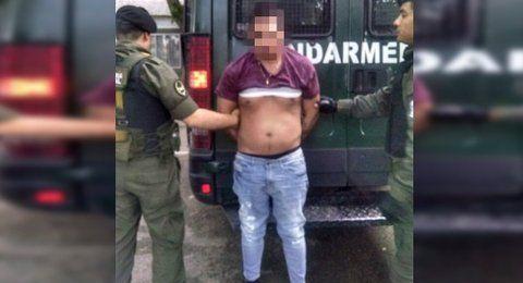 preso. Alexis Caminos fue detenido por Gendarmería en octubre pasado.