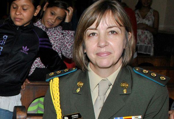 María Isabel Pansa. La primera mujer que accede al cargo en el Ejército.