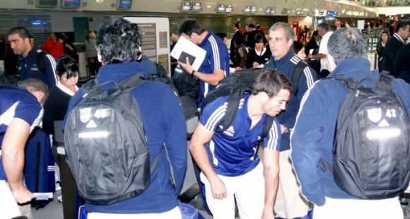Los Pumas volvieron al país con el orgullo de haber hecho un buen papel en el Mundial