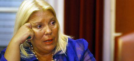 Carrió ratificó que denunciará a Kirchner por asociación ilícita
