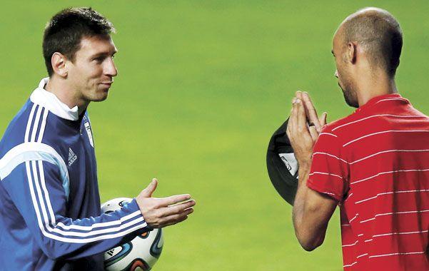 Lionel Messi pulverizó la tradicional rivalidad futbolística con el vecino país