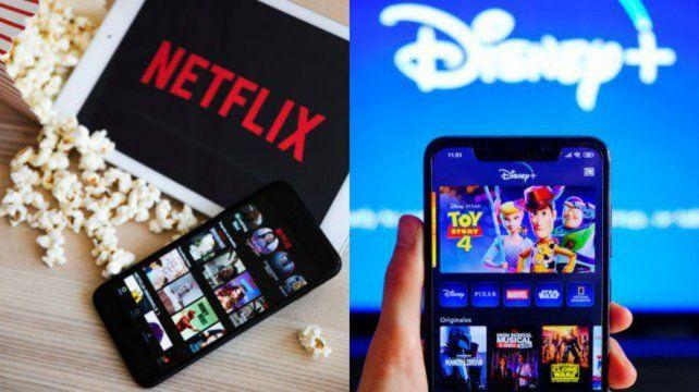 Netflix le dio la bienvenida a Disney Plus y se desató una comedia de enredos