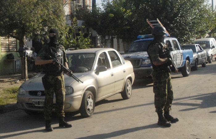 El operativo fue realizado por personal de la PSA y de Gendarmería.