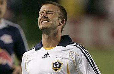 Es un fracaso la visita de David Beckham a Nueva Zelanda