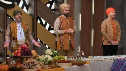 El jurado de Masterchef Celebrity asombró a todos con su look hindú