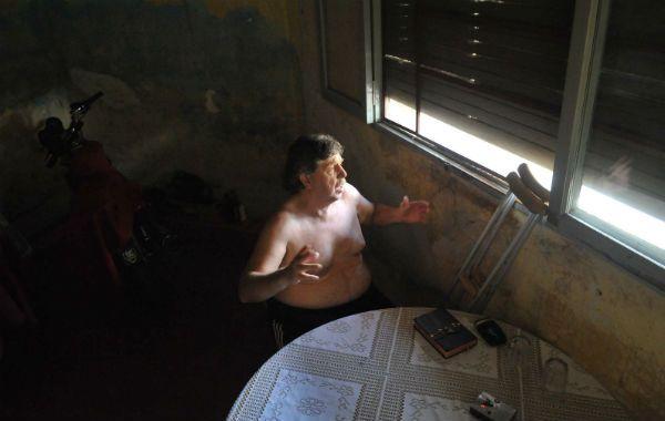 Héctor Alarcón no dudó en señalar a quienes mataron a su hijo.