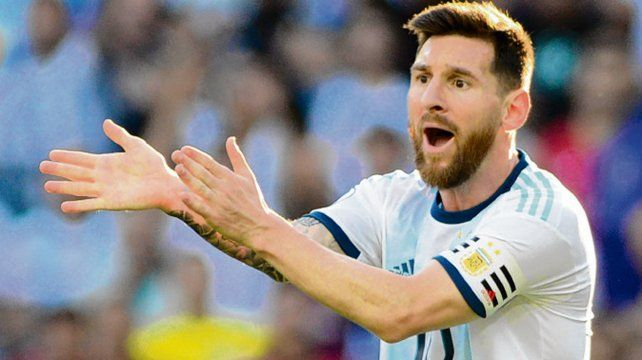 La Conmebol no toca la suspensión a Messi