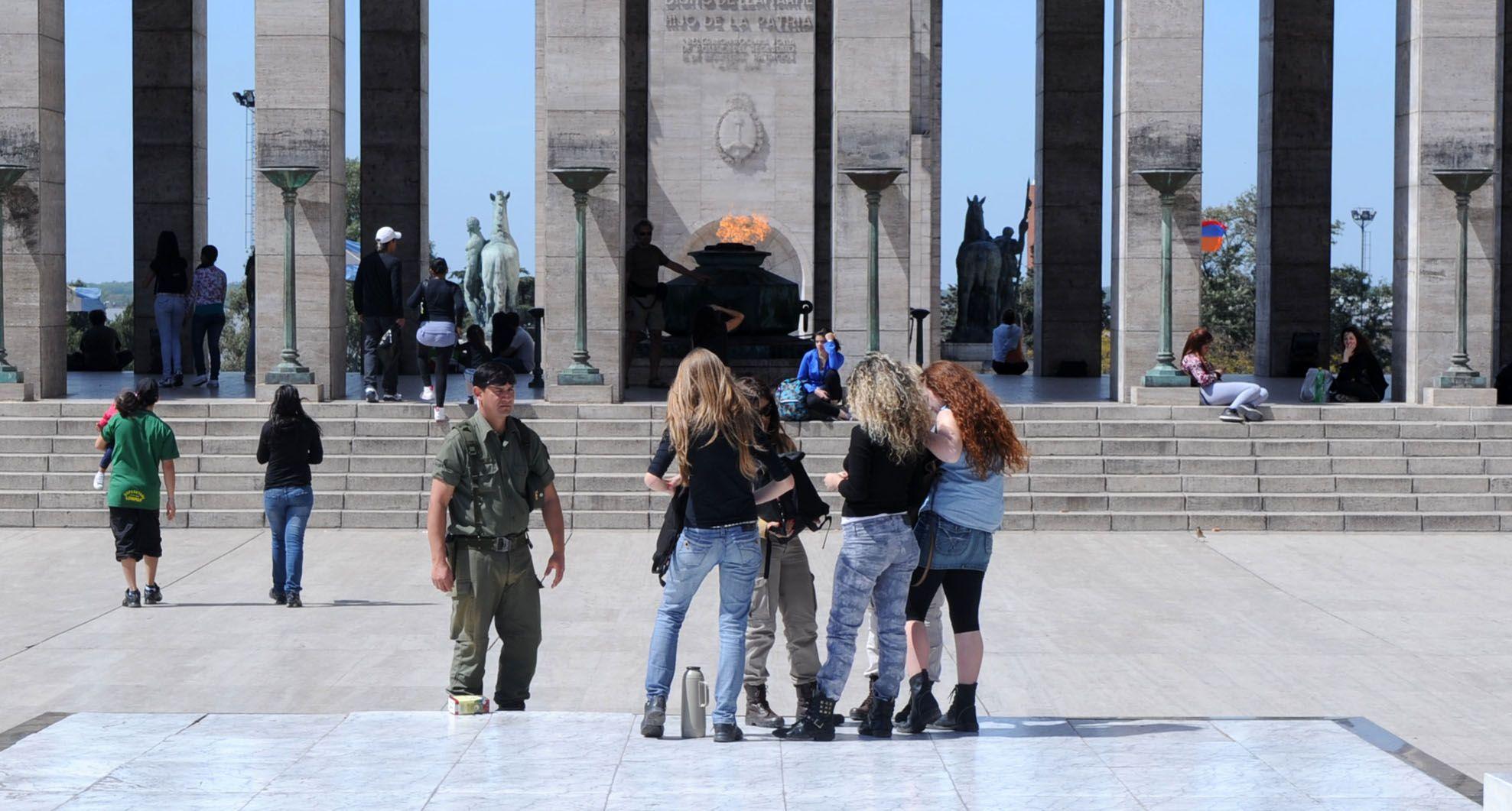 El Monumento a la Bandera