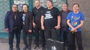 """""""Somos la típica banda con poca difusión, que tiene que subir al escenario a convencer"""", dijo Boettner."""