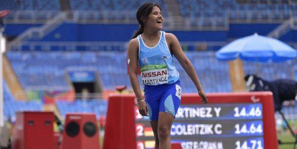 La rosarina Yanina Martínez, medalla de oro en los 200 metros llanos en Lima