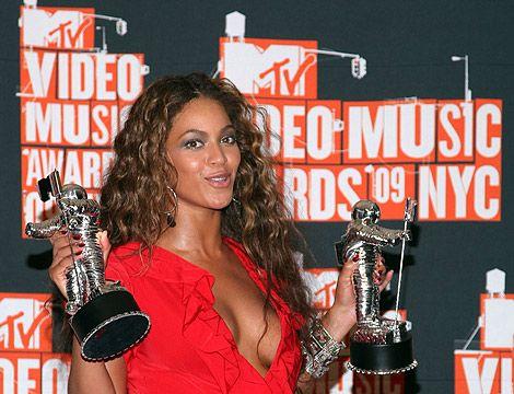 Beyoncé se consagró anoche como la gran ganadora de los premios MTV