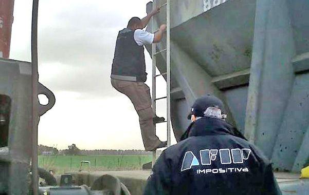 Operativo cosecha. La Afip controló la cadena de comercialización durante la última campaña de soja y maíz.