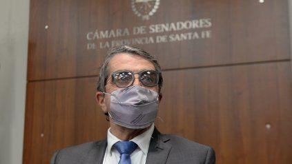 El senador Armando Traferri, del Nuevo Espacio Santafesino.