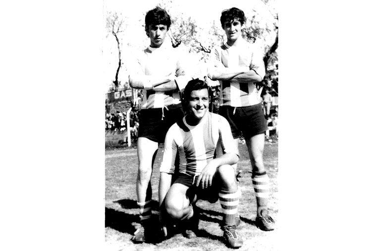 En sus primeros años en Primera División