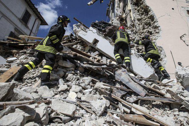amatrice. El último sismo reabrió el debate sobre cómo el país puede mejorar su resistencia a los temblores.