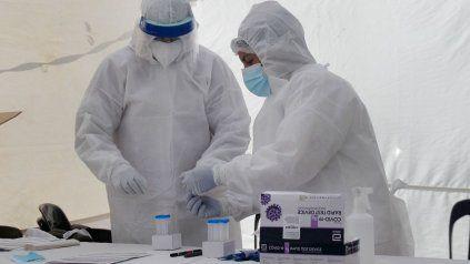 En Rosario, con el aumento de los testeos y los hisopados también aumentaron los casos.