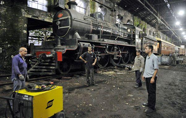 El mito. La 191 se convirtió durante años en la locomotora insignia del Ferrocarril Central Argentino.  (Foto: G. de los Ríos)
