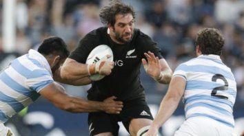 """""""No jugaremos el partido de manera diferente en cuanto a las expectativas, siempre habrá exigencias interna y externa para ganar"""" agregó el jugador de Crusaders, quien ganó la final del Super Rugby 2019 ante Jaguares."""