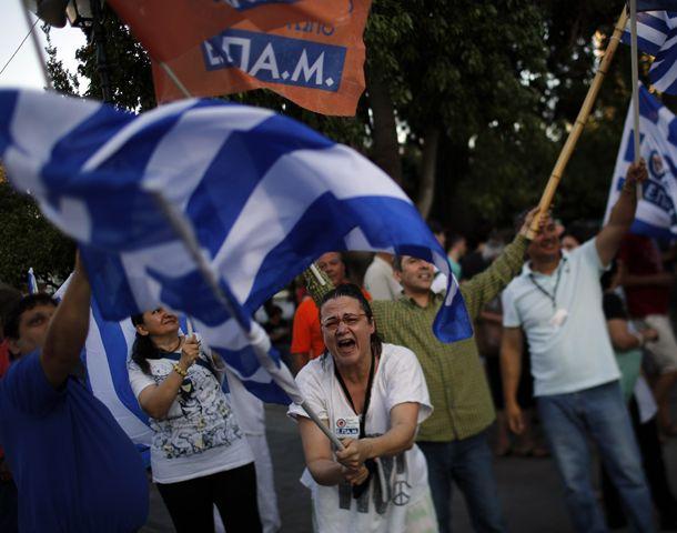 Cerca de 10 millones de griegos votaron en el referéndum.