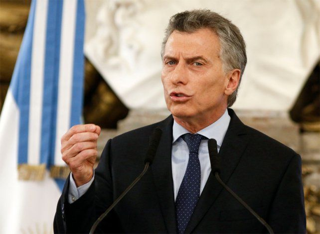 Para Mauricio Macri el país está en crecimiento.