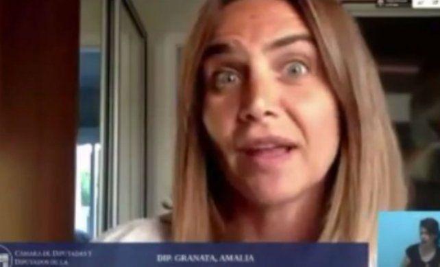 Amalia Granata acusó al ministro de Seguridad Marcelo Saín de tratarla de burra y bruta
