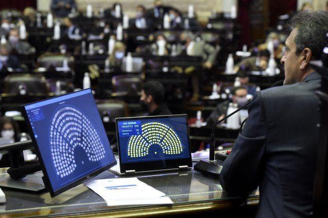 Diputados votó el proyecto de ley de zonas frías para tarifas de gas.