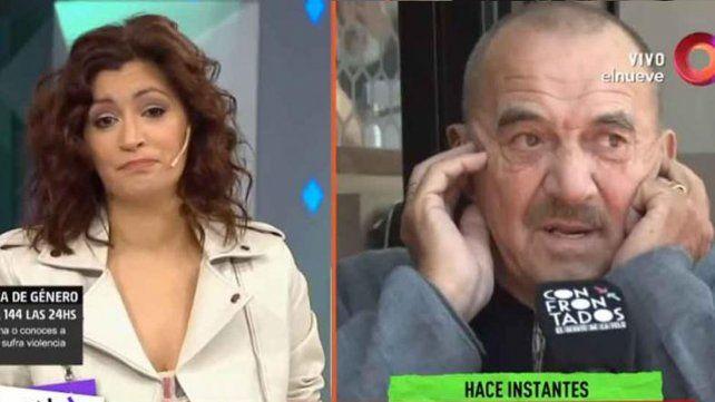 Levantan un móvil por la pelea entre Carla Conte y Rolando Hanglin