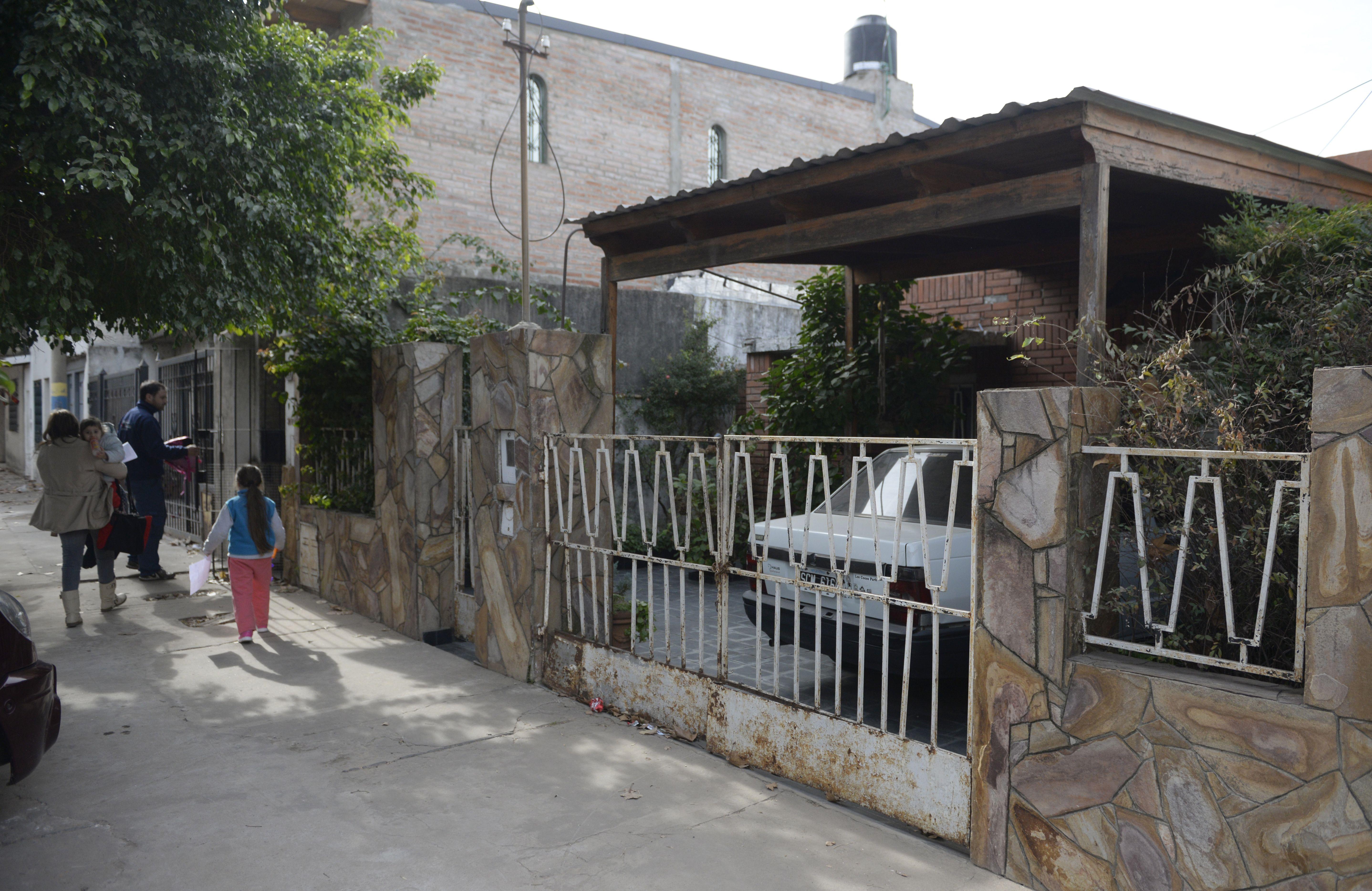 El lugar del ataque. La casa de Camilo Aldao al 3000