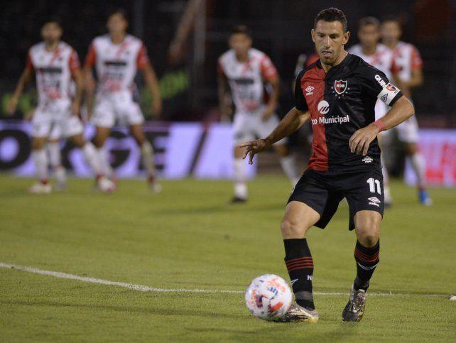 Listo para volver. Maxi hace dos meses que no juega y reaparecerá mañana ante Vélezen el Coloso.