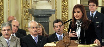 Cristina anunció que el gobierno cancelará la deuda con el Club de París