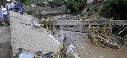 El huracán Ida causó 91 muertos en El Salvador por inundaciones