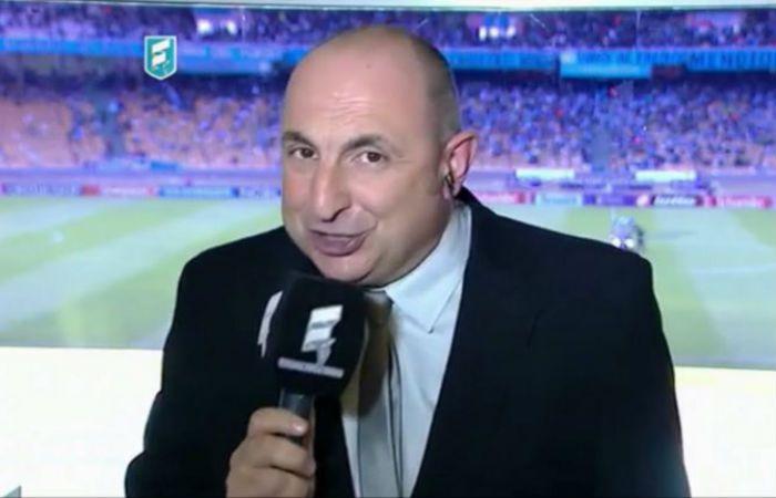 El relator militante de Fútbol para Todos