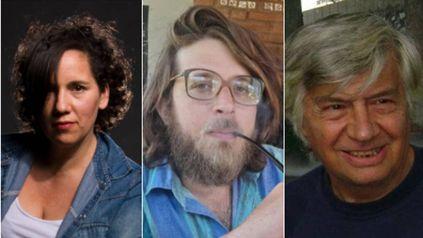Melina Torres, Marco Mizzi y Eduardo DAnna, escritores rosarinos que incursionan en el género policial.