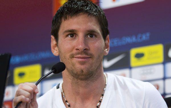 La noticia podría condicionar la presencia de Leo en la primera fecha de la Liga de Campeones de Europa.