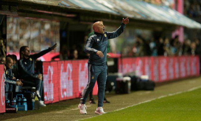 Sampaoli no pierde la esperanza: El equipo está con rabia pero si gana va a Rusia
